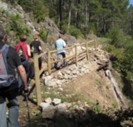 Recuperació del Sender Camí de Sant Jaume Alt Urgell