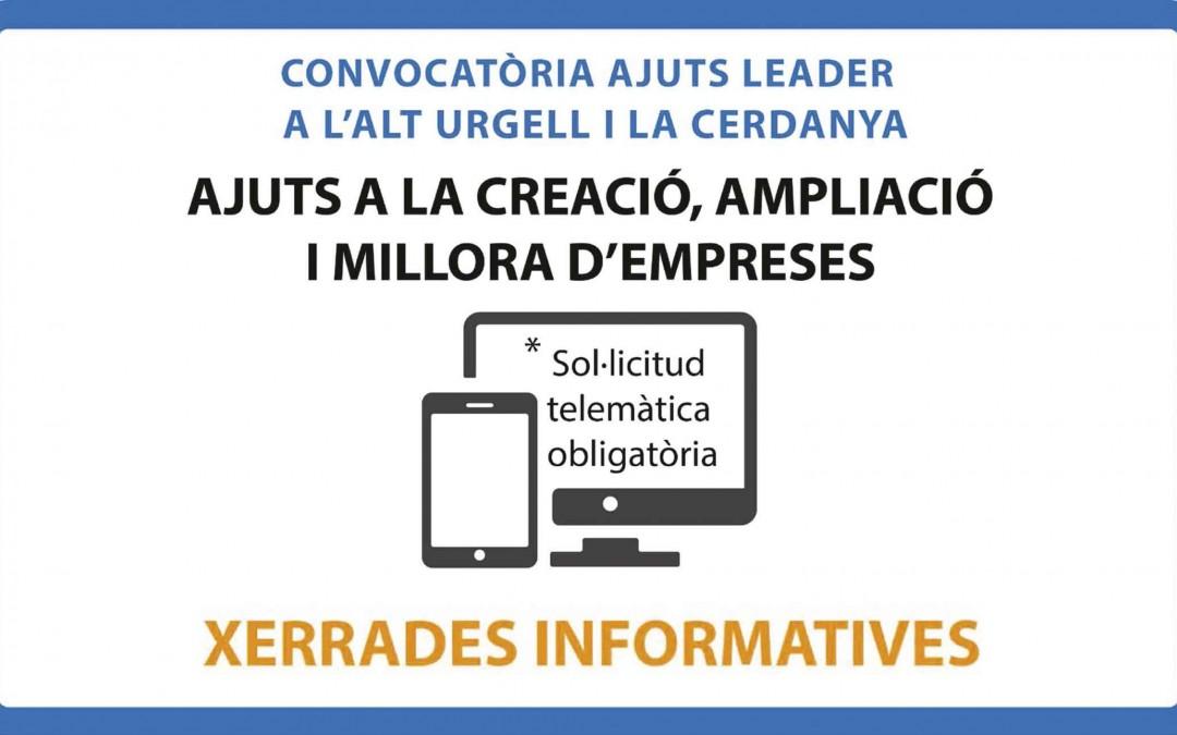 T'expliquem la nova convocatòria d'ajuts Leader a l'Alt Urgell i la Cerdanya