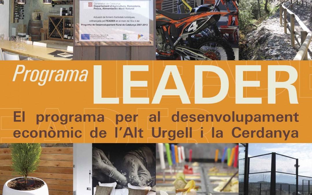 El programa LEADER atorga 639.000 euros en ajuts per a 17 projectes empresarials pel desenvolupament rural de l'Alt Urgell i la Cerdanya