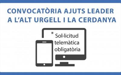 Ajuts destinats a l'aplicació del desenvolupament local participatiu Leader en el marc del Programa de desenvolupament rural de Catalunya 2014-2020 -operació 190201