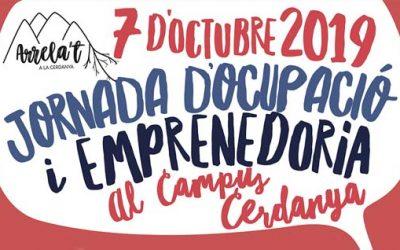 """Jornada d'ocupació i emprenedoria """"Arrela't a la Cerdanya"""" 7 d'octubre de 2019 Puigcerdà"""